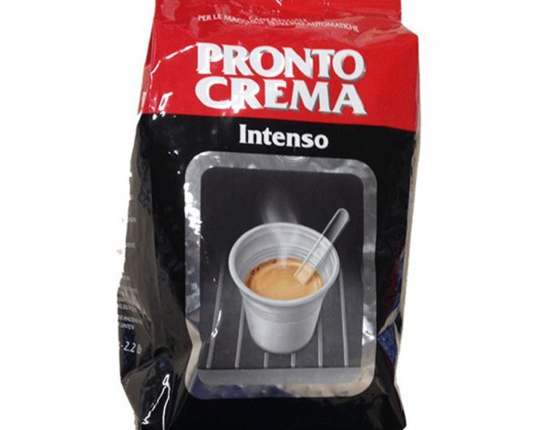 Кофе в зернах LAVAZZA Pronto Crema Intenso (1KG)